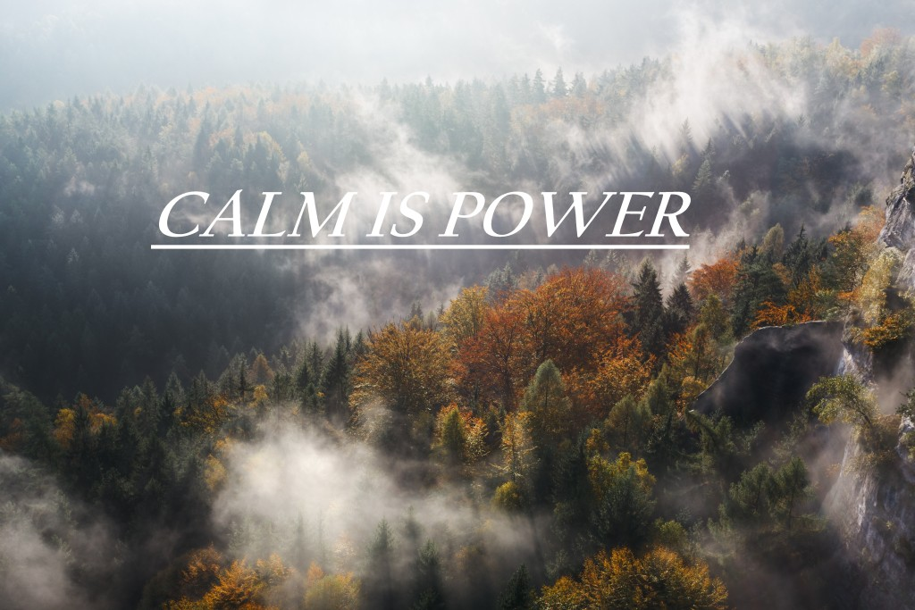 Calm is power