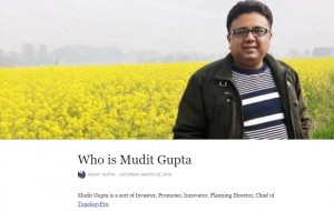Who is Mudit Gupta