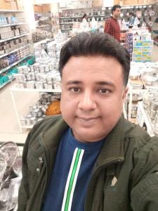 Selfie inside D-Mart
