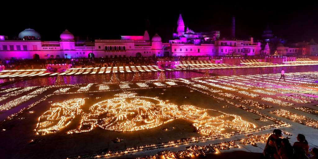 Ayodhya on Diwali 2020