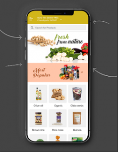 TopologyCart Customer App